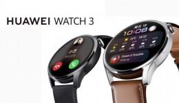 搭载HarmonyOS的华为WATCH 3旗舰系列手表来了