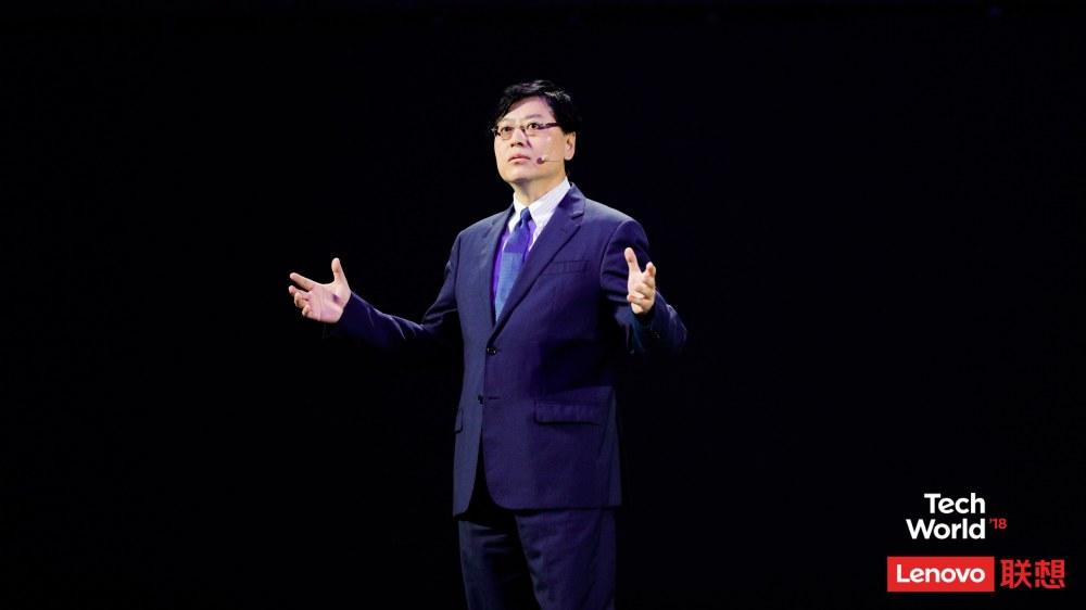 杨元庆:智能化变革时代 联想要雁阵前行加速变革