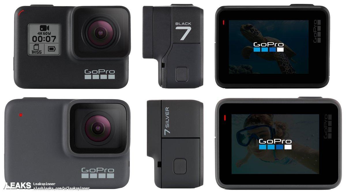 GOPRO运动相机新品HERO 7 SPECS曝光