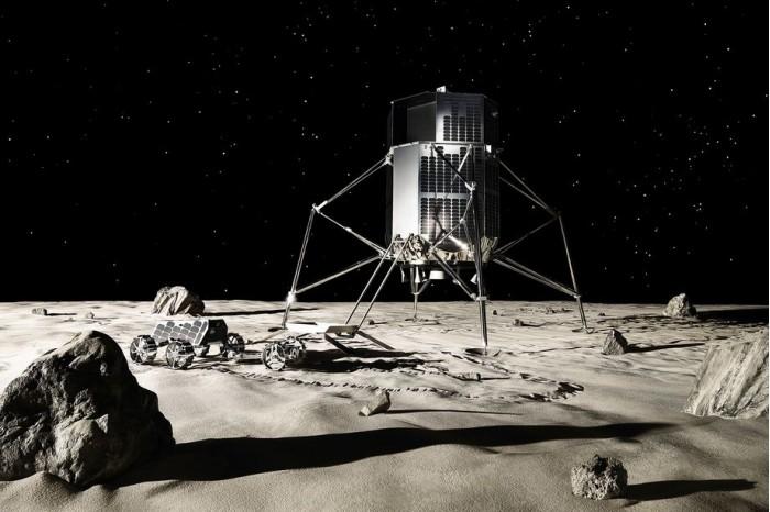 2021年前 SpaceX将为日本公司部署两台月球车