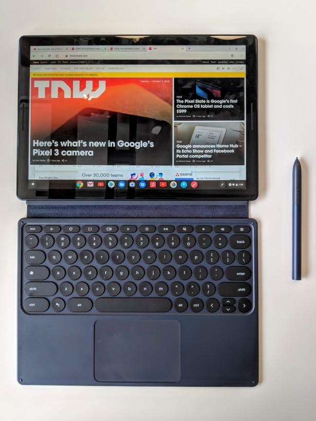 Pixel Slate上手体验:华丽的Chrome OS平板+200美金的键盘