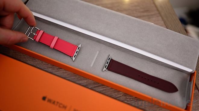 爱马仕版Apple Watch开箱:包装常规 没有突显奢华气质