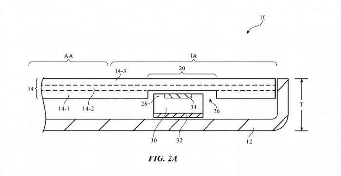 苹果手机屏幕钻孔专利曝光 可能在明年投入实用