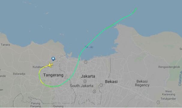 印尼狮航一架客机起飞13分钟后坠毁 媒体称机上载有188人