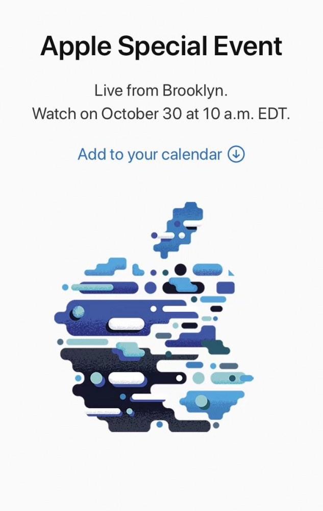 苹果宣布10月30日举办发布会 全面屏 iPad Pro 真的要来了?