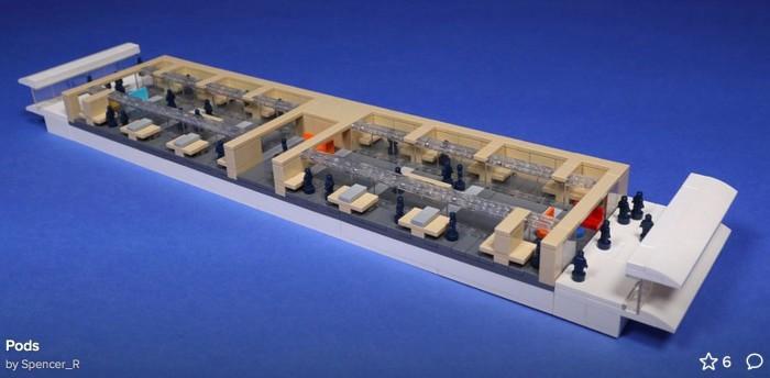 乐高搭建的 Apple Park 欣赏:细节惊人、8.5 万块