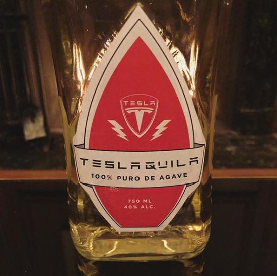 马斯克改行?特斯拉申请商标Teslaquila用于龙舌兰酒
