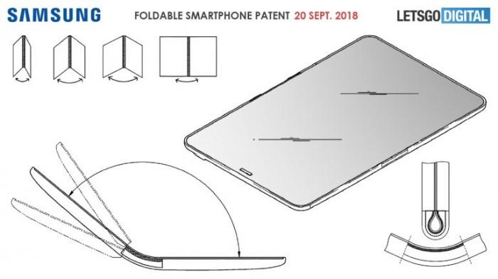 新专利显示三星有望推出可折叠智能手机