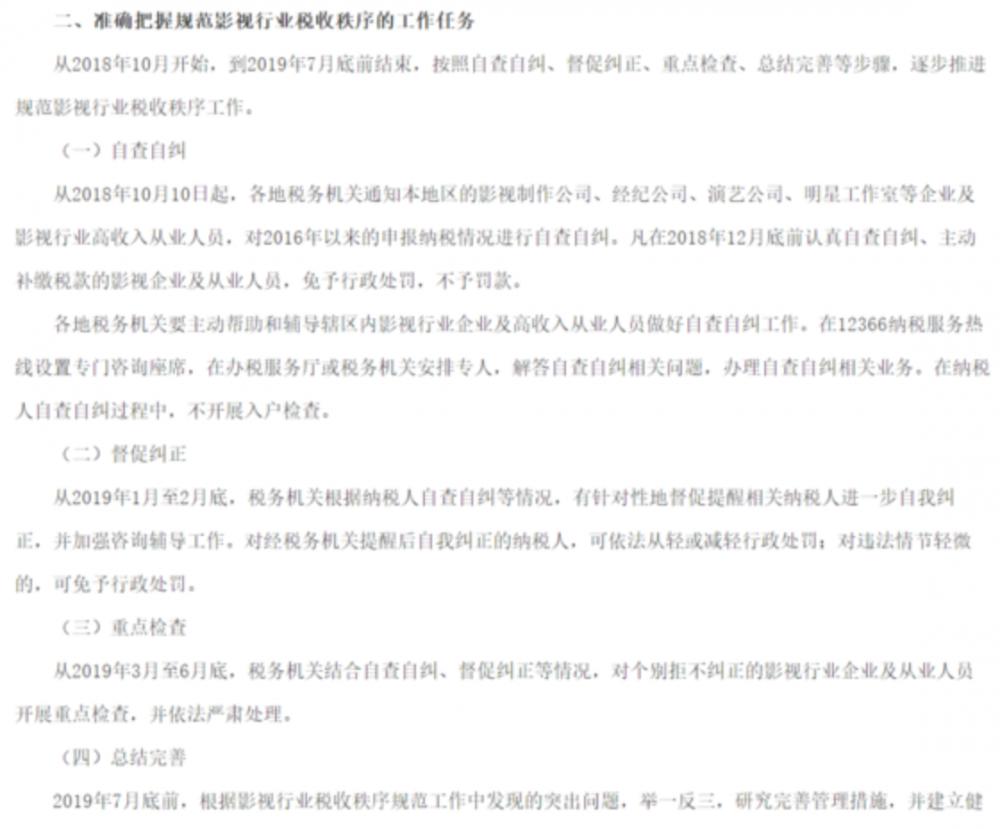 """影视工作室补税大幕开启!""""一刀切""""集体3年补缴30%税率?"""