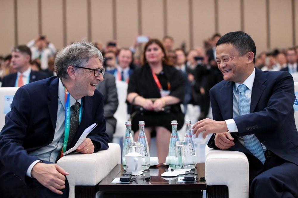 马云:中国成为进口大国,对世界是重大机会