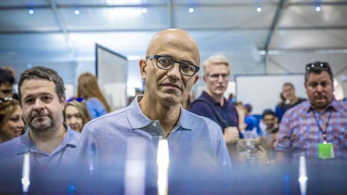 微软CEO纳德拉影射谷歌、脸书:不会利用用户数据赚钱