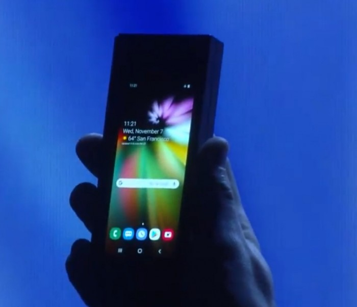 三星推出Infinity Flex Display可折叠屏设计