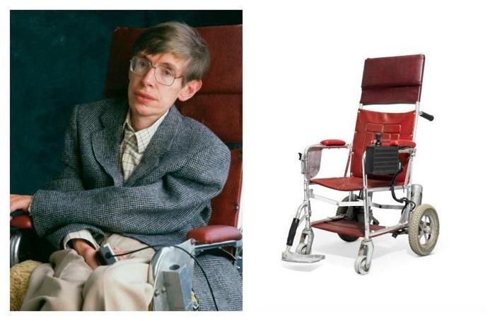霍金红色轮椅和一篇论文慈善拍卖筹得100万美金