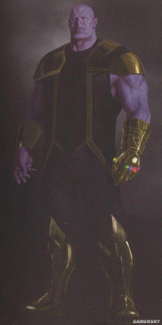 《复仇者联盟3》灵魂宝石大招首现 半裸灭霸变出黑洞吸干复联