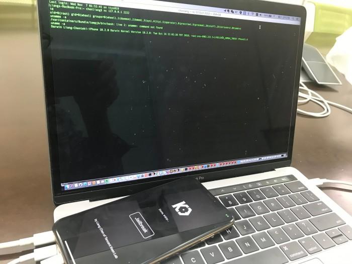 安装了iOS 12.1的iPhone XS Max已证实被越狱