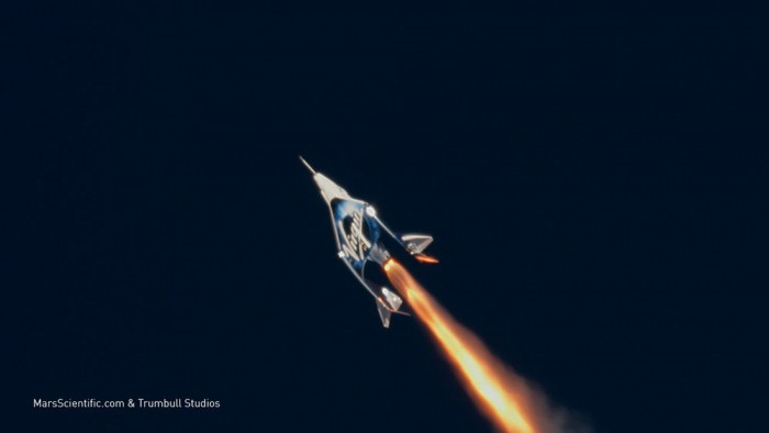 维珍将宇航员送到太空边缘 太空游离你又近一步