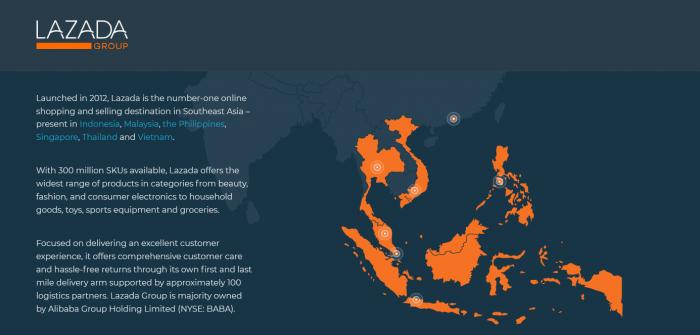 彭蕾卸任 阿里巴巴东南亚电子商务公司Lazada迎来新任CEO
