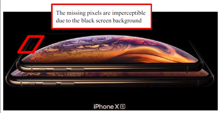 苹果被老外起诉iPhone XS像素和尺寸造假