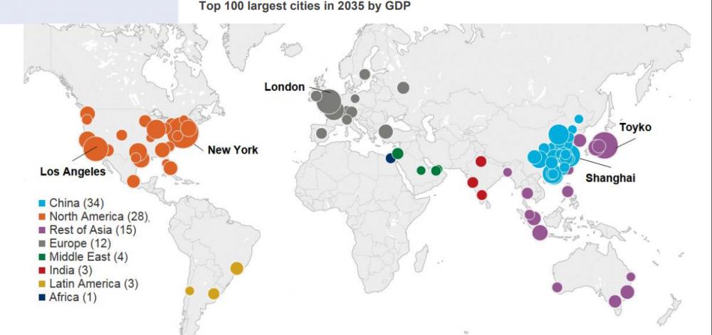 未来十五年增长最快的10个城市 可能全都来自印度