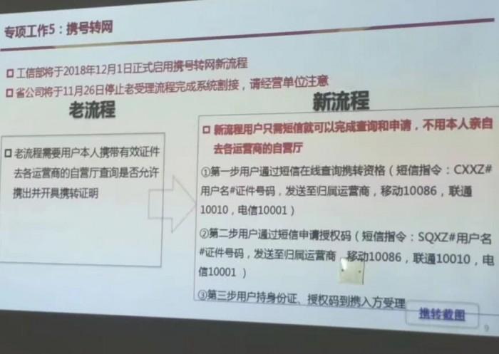 工信部:携号转网五省市正式开启 全国推行等2020年
