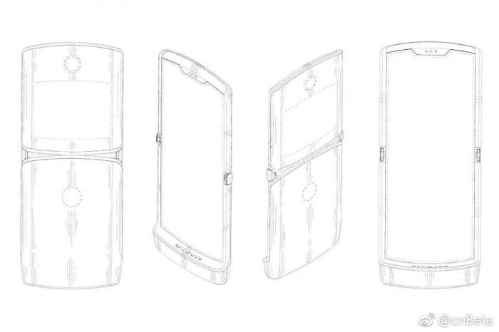 专利图像揭示新一代Motorola RAZR即将重见天日
