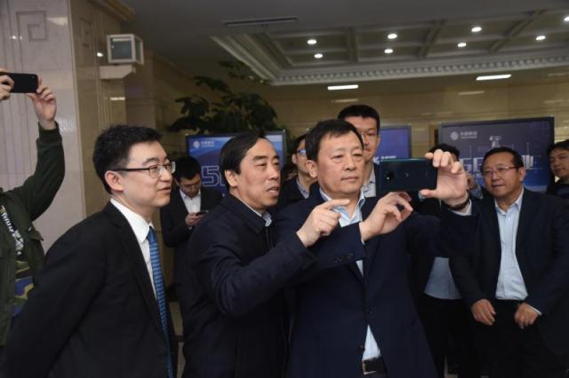 中国移动拨通东北首个5G网络电话
