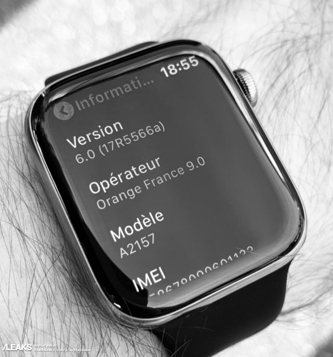泄露的照片让我们第一次看到Apple Watch 5