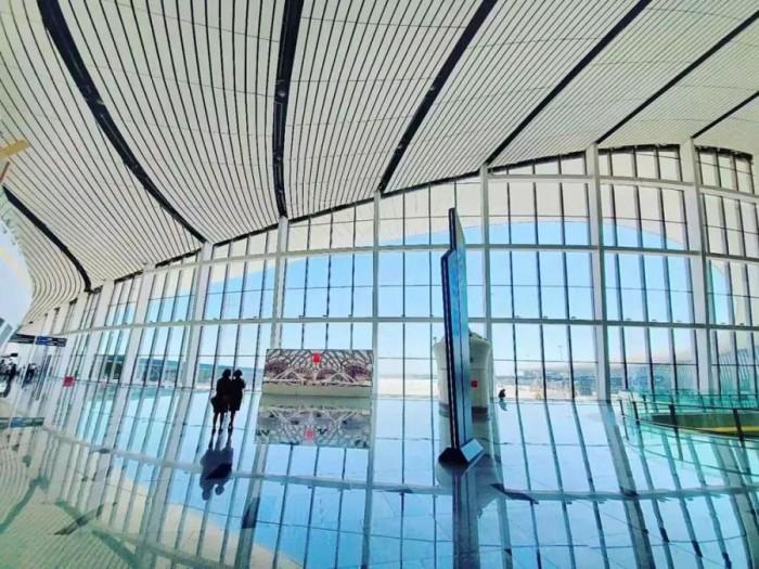 大兴机场内部图公布 装修完毕等待启用