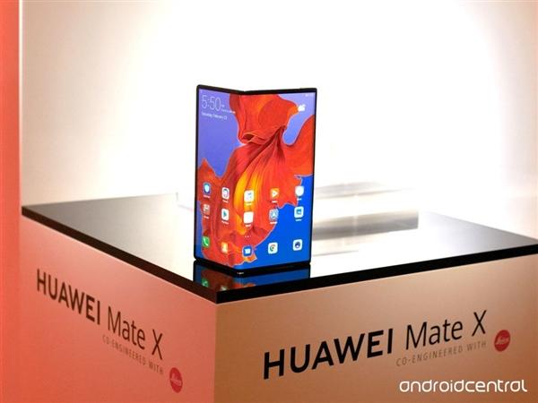 华为Mate X素颜照公布:5G+55W超级快充