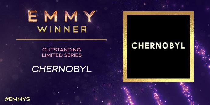 第71届艾美奖:《权游》最佳剧情 《切尔诺贝利》最佳限定剧集
