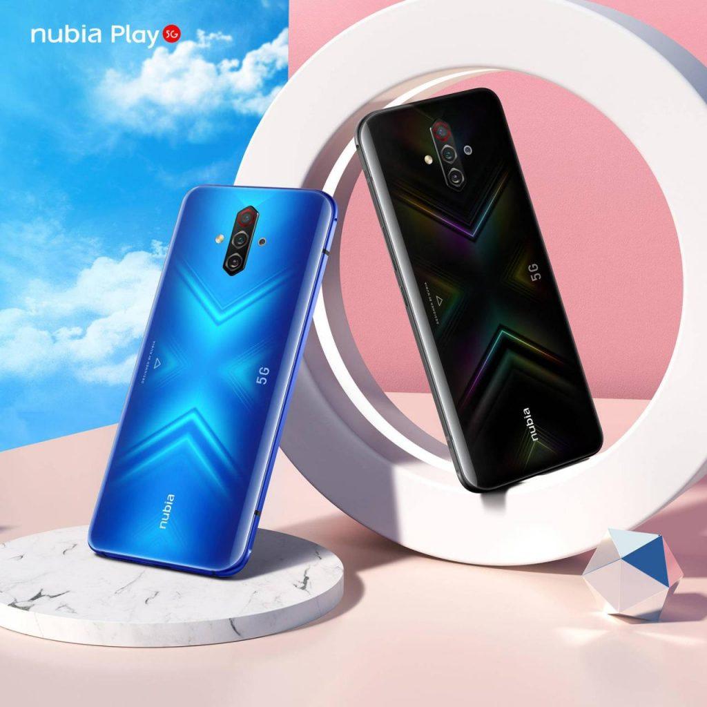 努比亚Play正式亮相,中端5G机型也能玩个痛快