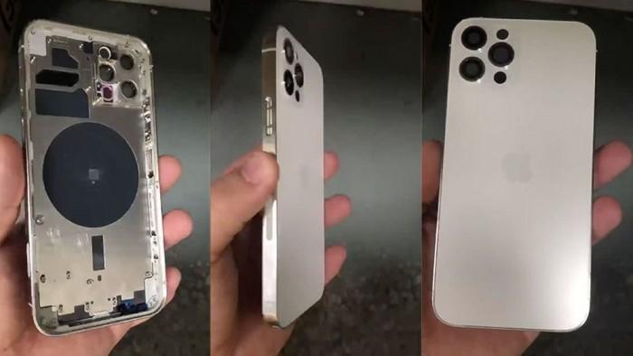 iPhone 12 Pro金属外壳曝光:确认配LiDAR 侧面有神秘接口