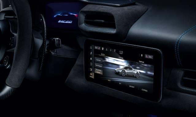 玛莎拉蒂MC20超跑迎来Android Automotive车载系统加持